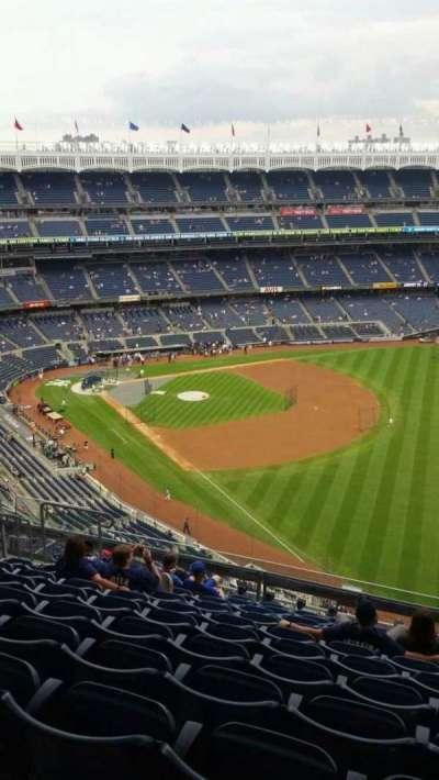 Yankee Stadium, sección: 409, fila: 11, asiento: 10