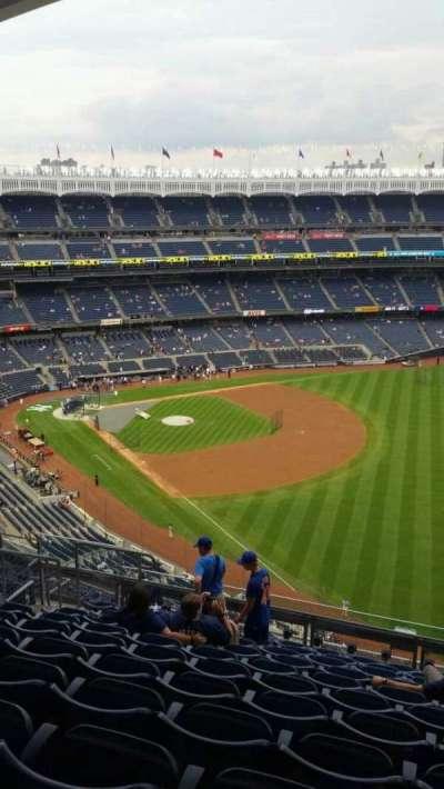 Yankee Stadium, sección: 409, fila: 11, asiento: 12