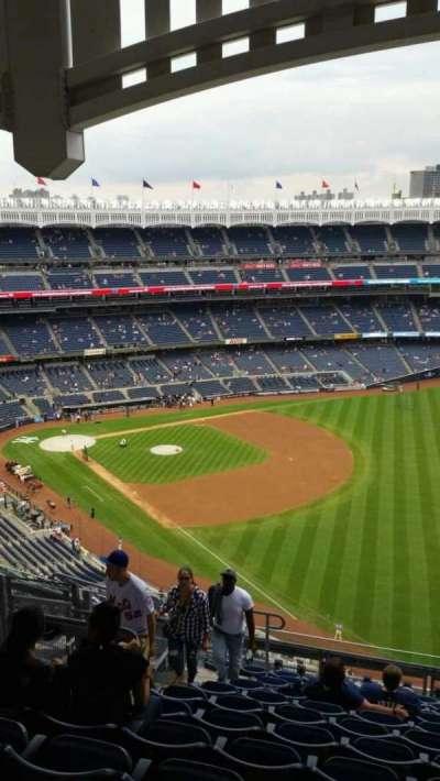 Yankee Stadium, sección: 409, fila: 12, asiento: 17