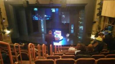 Music Box Theatre, sección: Mezzanine, fila: J, asiento: 6