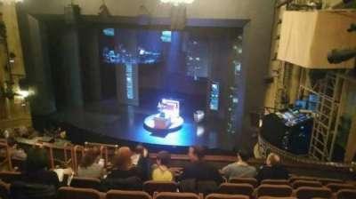 Music Box Theatre, sección: Mezzanine, fila: J, asiento: 16