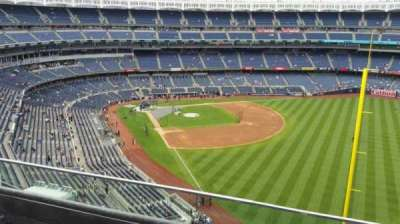 Yankee Stadium, sección: 408, fila: 2, asiento: 2