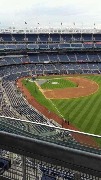 Yankee Stadium, sección: 408, fila: 2, asiento: 9