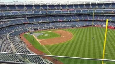Yankee Stadium, sección: 408, fila: 2, asiento: 10