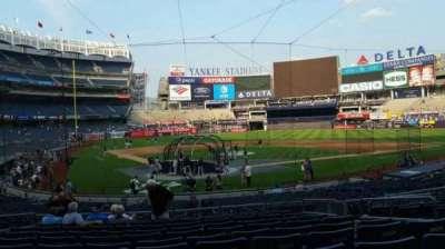 Yankee Stadium sección 119