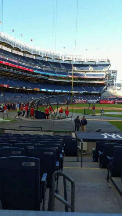 Yankee Stadium sección 117B