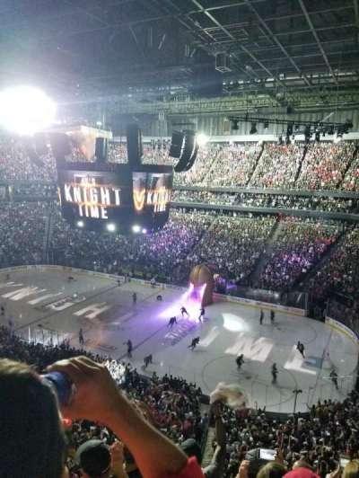 T-Mobile Arena, sección: 226, fila: E, asiento: 10