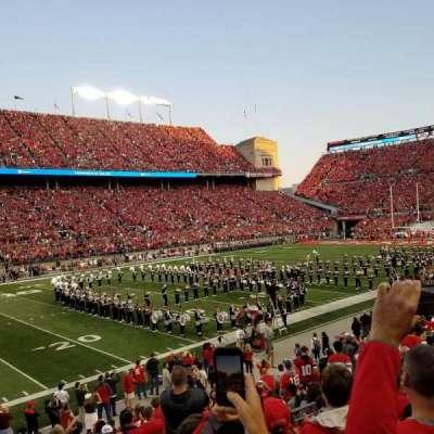 Ohio Stadium, sección: 15A, fila: 5, asiento: 5