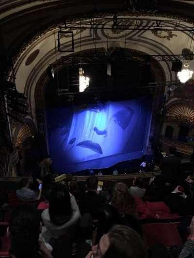 Palace Theatre (Broadway), sección: BALC L, fila: G, asiento: 19