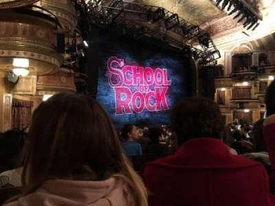 Winter Garden Theatre, sección: ORCHO, fila: P, asiento: 33