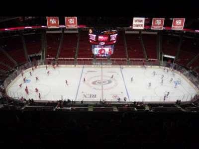 PNC Arena, sección: 304, fila: M, asiento: 14