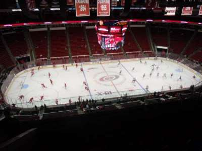 PNC Arena, sección: 305, fila: H, asiento: 13