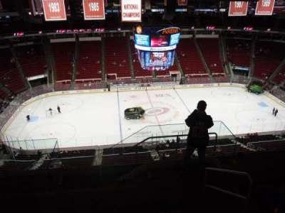 PNC Arena, sección: 325, fila: G, asiento: 1