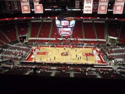PNC Arena, sección: 304, fila: G, asiento: 9