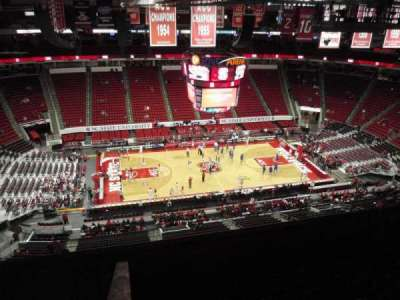 PNC Arena, sección: 305, fila: H, asiento: 15