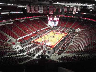 PNC Arena, sección: 311, fila: H, asiento: 8