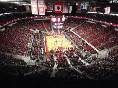 PNC Arena, sección: 334, fila: F, asiento: 5