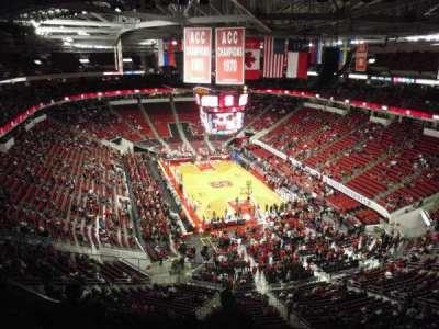 PNC Arena, sección: 334, fila: F, asiento: 24