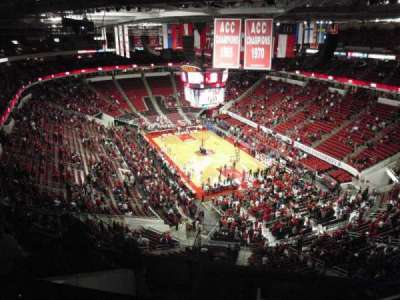 PNC Arena, sección: 335, fila: H, asiento: 6