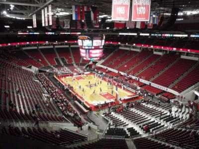 PNC Arena, sección: 336, fila: A, asiento: 5