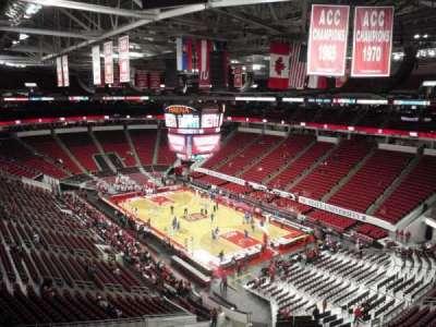 PNC Arena, sección: 336, fila: A, asiento: 19