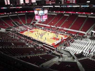 PNC Arena, sección: 338, fila: A, asiento: 14