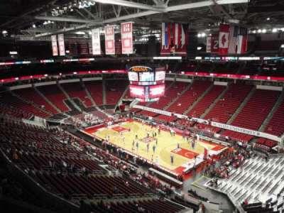 PNC Arena, sección: 338, fila: C, asiento: 5