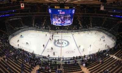 Madison Square Garden, sección: 313, fila: 1, asiento: 12