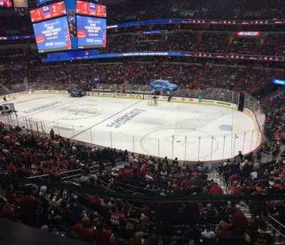 Capital One Arena, sección: 218, fila: A, asiento: 4