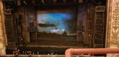 Cadillac Palace Theater, sección: LogeRC, fila: A, asiento: 321