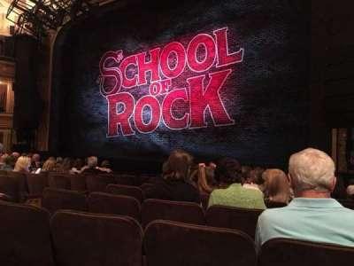 Winter Garden Theatre, sección: Orchestra, fila: K, asiento: 10