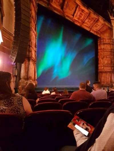 St. James Theatre, sección: Orchestra, fila: K, asiento: 23