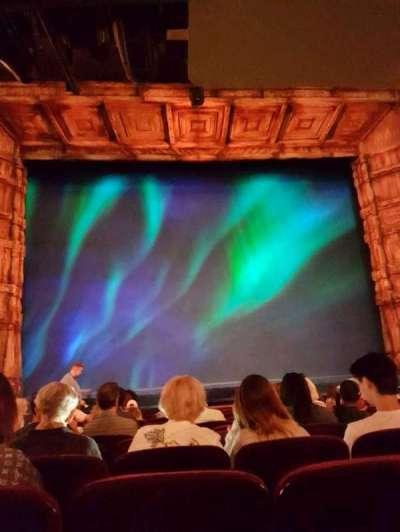St. James Theatre, sección: Orchestra, fila: L, asiento: 111