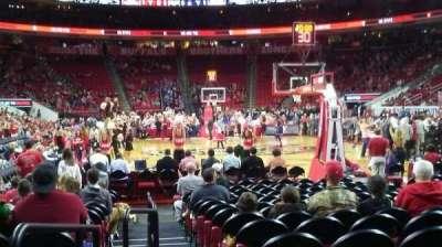 PNC Arena, sección: 127, fila: E, asiento: 9