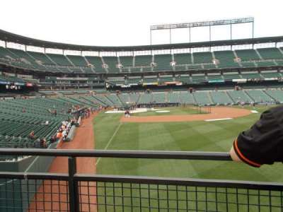 Oriole Park at Camden Yards, sección: Right Field Standing Room Only