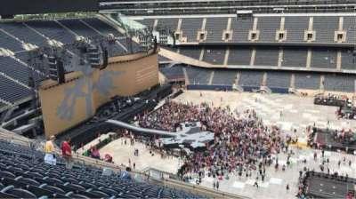 Soldier Field, sección: 438, fila: 20, asiento: 21