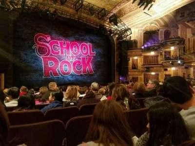 Winter Garden Theatre, sección: Orchestra, fila: P, asiento: 16