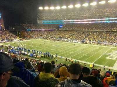 Gillette Stadium, sección: 227, fila: 13, asiento: 18