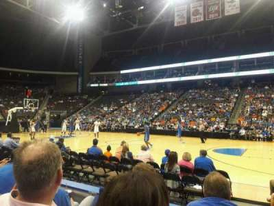 Jacksonville Veterans Memorial Arena, sección: 102, fila: C, asiento: 11