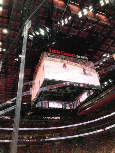 Little Caesars Arena, sección: 118, fila: 1, asiento: 3