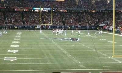 Georgia Dome, sección: 103, fila: 15