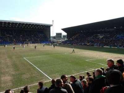 Prenton Park, sección: Cowshed Stand, fila: J, asiento: 18