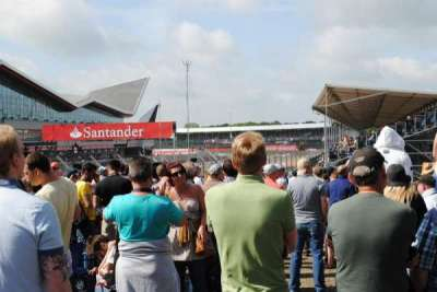 Silverstone Circuit, sección: General Admission