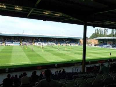 Gigg Lane, sección: South Stand, fila: T, asiento: 54