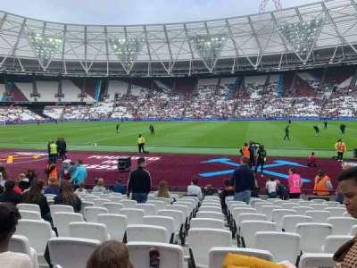 London Stadium sección 110