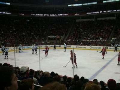 PNC Arena, sección: 120, fila: H, asiento: 1