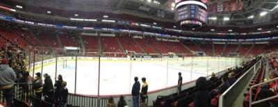 PNC Arena, sección: 122, fila: G, asiento: 3