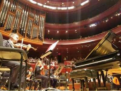 Verizon Hall at the Kimmel Center, sección: Orchestra, fila: B, asiento: 125