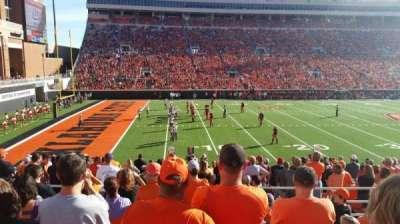 Boone Pickens Stadium, sección: 227, fila: 9, asiento: 13