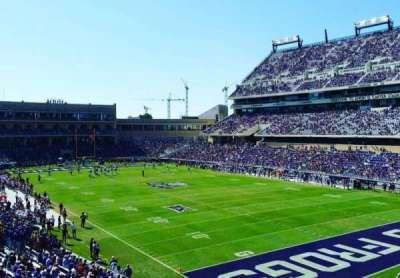 Amon G. Carter Stadium, sección: 228, fila: B, asiento: 101